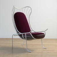 arpa chair se london 3d max