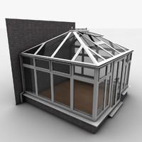 3d model conservatory