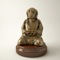 3ds max souvenir dog buddha