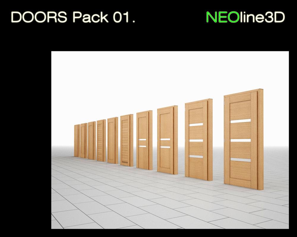 NEOline3D - Doors Pack 01.jpg