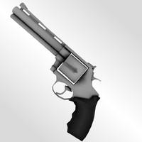 3d colt python revolver