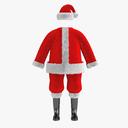 santa suit 3D models