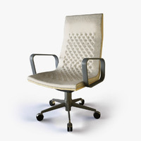 3d modern office task chair model