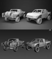 x-revo pack ready 3d model