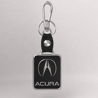 3d model of realistic acura car key