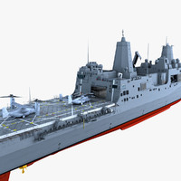 3d uss green bay mv