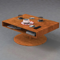 room table 3d c4d