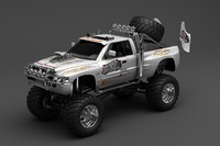 3ds max monster truck
