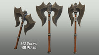 3ds max handed axe 02