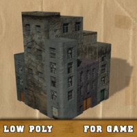 free obj model buildings games science