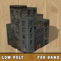 free obj model buildings games science