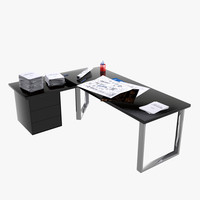 3d desk stationery