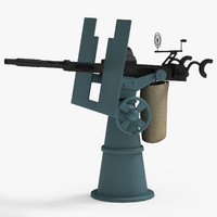 20mm Oerlikon Anti-Aircraft Gun