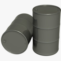3d drum metallic materials