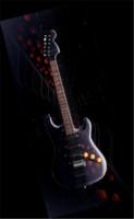 3d guitar stratocaster model