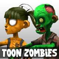 Cartoon Zombie Pack