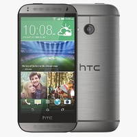 htc mini 2 gunmetal 3d model