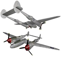 3ds p-38 lightning ready