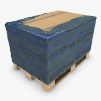 Pallet with Boxes & Nylon