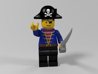 Pirate lego character