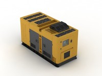 generator power machine 3d model