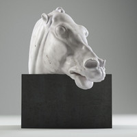 horse head parthenon 3d model