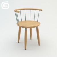 3d circle chair