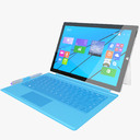 Microsoft Surface 3D models