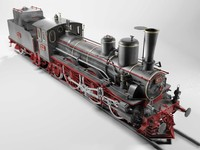 3ds max steam locomotive 1893 orleans