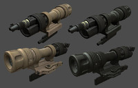 maya weapon light