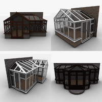 3ds max conservatories