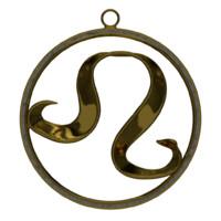 leo zodiac symbol blend