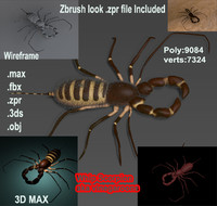whip scorpion 3ds