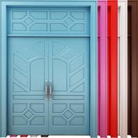 3d model door scene