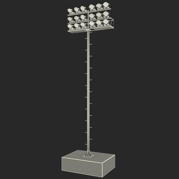 Stadium Lights 4... By 3d_molier
