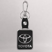 3d model realistic toyota car key