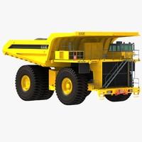komatsu dump truck max