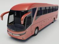marcopolo paradiso 1200 coach 3d model