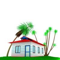 max small house scene