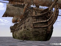 century pirate ship 18th 3d model