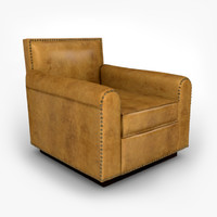 3d ralph lauren colorado club chair model