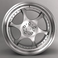 3ds max kleemann car alloy logo