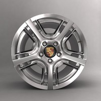 max porsche car alloy 5r19