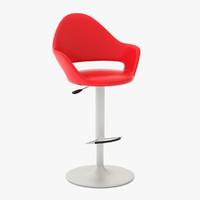 3d soft-sg bar stool model