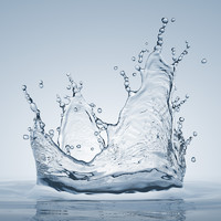 water splash 3d max