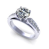 diamond ring 3d 3dm