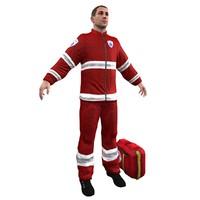 paramedic human man max