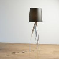 medusa lamp 3d model