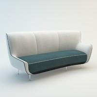 3d model mio sofa