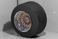 3d bbs rs wheels model